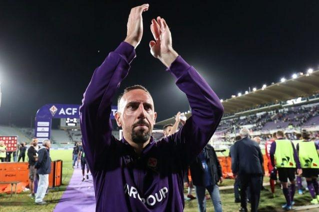 Fiorentina, Ribery MVP di settembre in Serie A