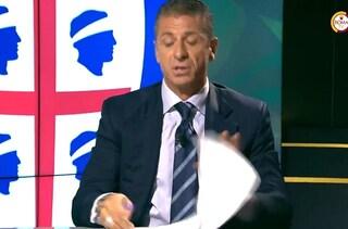 """Rizzitelli lascia la diretta dopo il gol annullato a Kalinic: """"Se parlo, mi denunciano"""""""