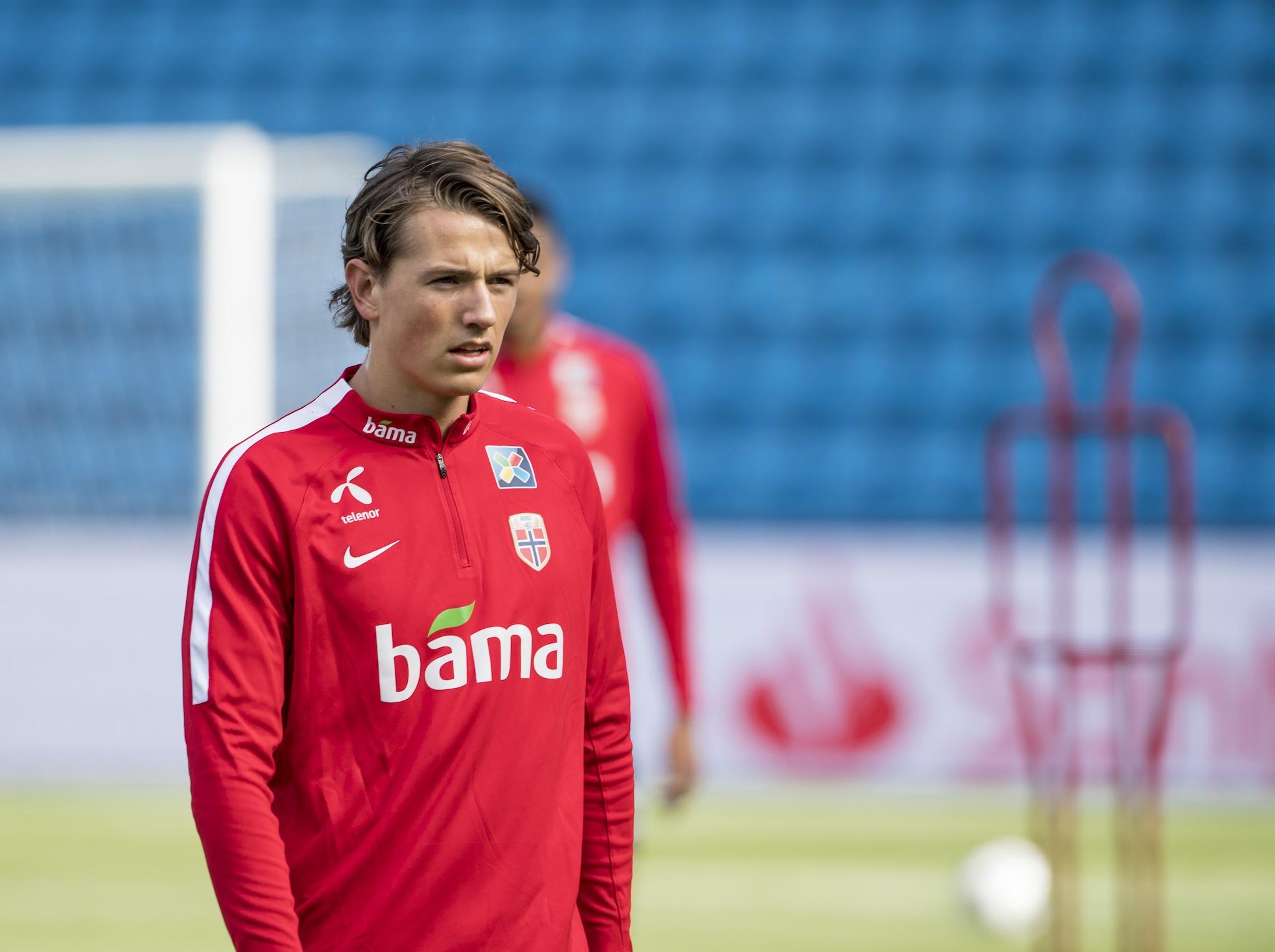 Sander Berge, norvegese del Genk.
