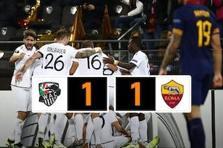 Europa League, Roma bloccata in Austria: il Wolfsberger strappa il pari ai giallorossi