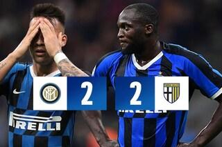 Il Parma ferma l'Inter a San Siro: Conte manca il sorpasso alla Juventus