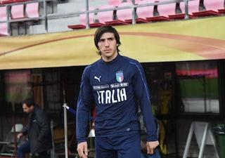 """Italia, Tonali entusiasta: """"Mi godo la convocazione. Io come Pirlo? No, meglio Gattuso"""""""