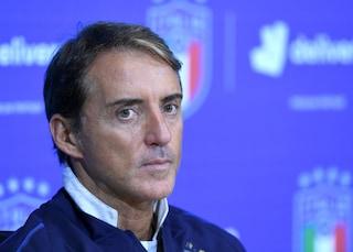 """Italia, Roberto Mancini: """"Contro la Bosnia per vincere. In attacco gioca Belotti"""""""