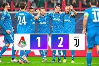 Champions, Douglas Costa al 93esimo: la Juventus batte la Lokomotiv e vola agli ottavi