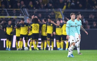 Inter, un gran primo tempo non basta: Barcellona e Borussia Dortmund, gli stessi errori