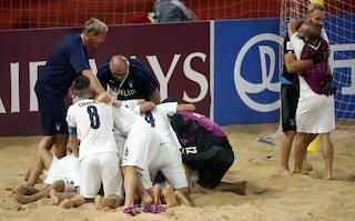 Mondiale Beach Soccer, Italia in semifinale: Svizzera battuta 5-4. Ora la Russia