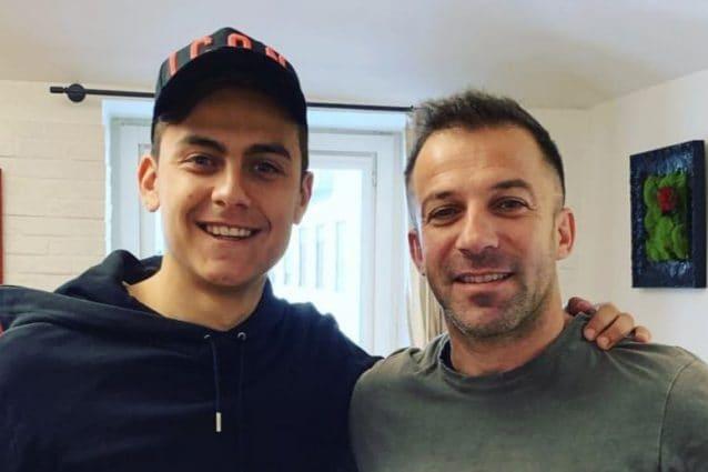 Del Piero compie 45 anni, Dybala gli fa gli auguri: Sei un numero ...