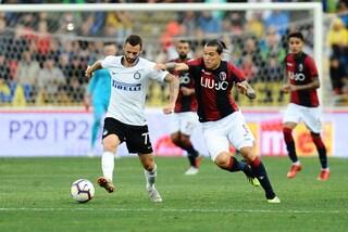 Bologna-Inter ultime notizie sulle formazioni: Medel in campo, Sensi parte dalla panchina