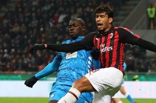 Milan-Napoli, il derby delle deluse. Chi perde rischia: è spareggio a Milano