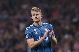 Champions, Matthijs de Ligt non convocato: salta la partita Lokomotiv-Juventus