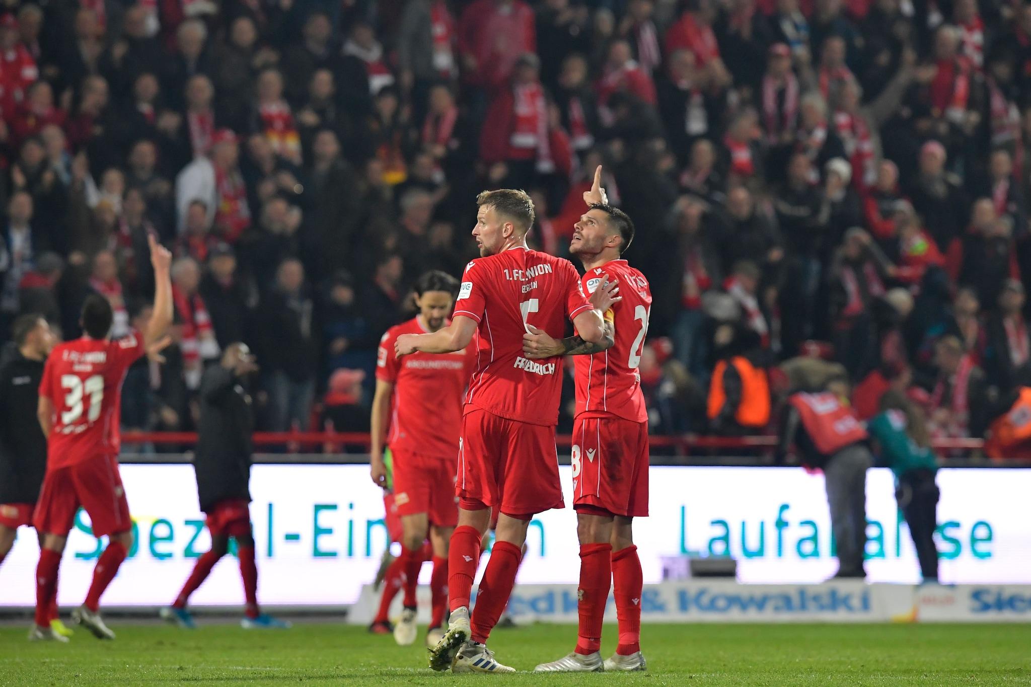 L'Union Berlino ha vinto 1–0 lo storico derby con l'Hertha.