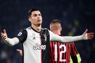 """Ronaldo torna su Juventus-Milan: """"Ho giocato da infortunato, capisco il cambio di Sarri"""""""