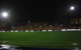 Lecce, stadio al buio: blackout elettrico al Via del Mare prima del match con il Cagliari