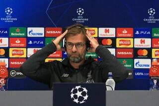 """Liverpool-Napoli, Klopp: """"Crisi azzurra? Fossi un giocatore ricompatterei il gruppo"""""""