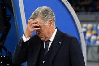 Napoli, la decisione di De Laurentiis su Ancelotti: niente esonero (per ora), fiducia a tempo