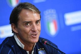 """Roberto Mancini: """"Balotelli in Nazionale solo se lo merita. Zaniolo deve crescere ancora"""""""