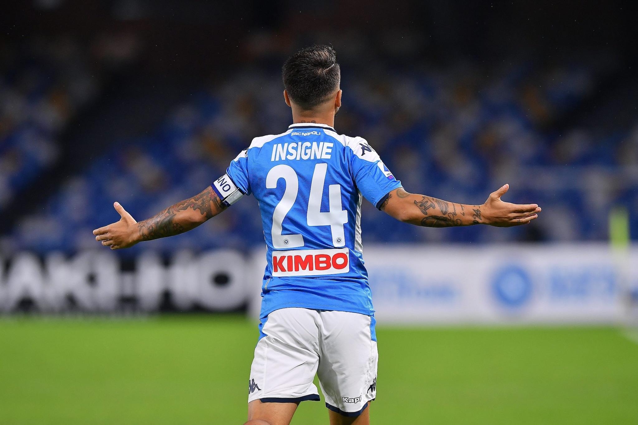 Insigne torna titolare contro il Bologna.