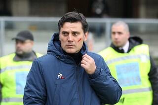 """Fiorentina, Montella sconfitto e criticato: """"I fischi dei tifosi? Li capisco"""""""