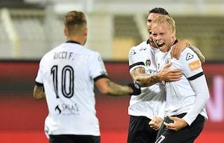 Serie B, Spezia-Frosinone 2-0: Gudjohnsen e Bidaoui stendono Nesta