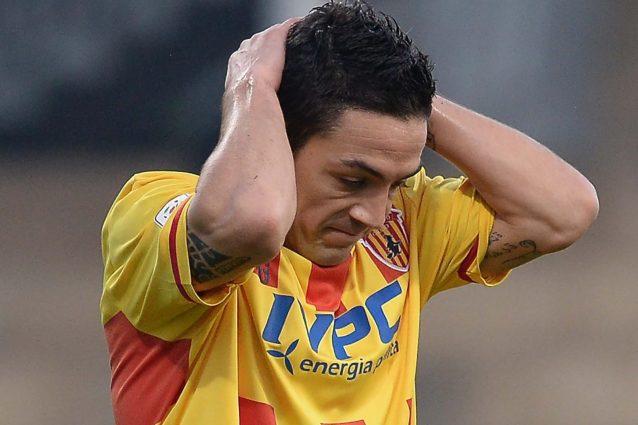 Michel Cruciani, ex calciatore del Benevento oggi alla Lucchese, colpito dal grave lutto