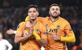 Bajric sviene a Wolverhampton. Raul Jimenez, che lo aveva steso, dopo il gol si scusa