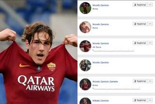 """""""Sono malato"""" ma è un fake: Nicolò Zaniolo vittima di profili falsi su Facebook"""