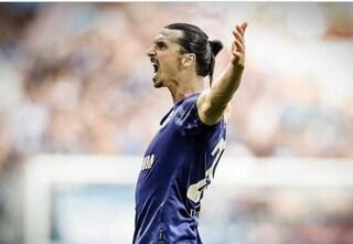 """Ibrahimovic, la proposta di mercato dello Schalke su Twitter: """"Da noi non c'è il baseball"""""""
