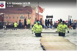 Cittadella-Pisa, l'incasso della partita di Serie B sarà devoluto al Comune di Venezia