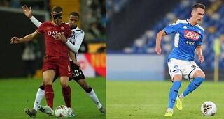 Roma-Napoli, tutto quello che c'è da sapere sul big match dell'11° turno di Serie A