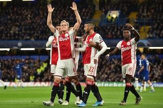 Champions League 19-20, i risultati delle partite di oggi 5 novembre: Chelsea-Ajax 4-4