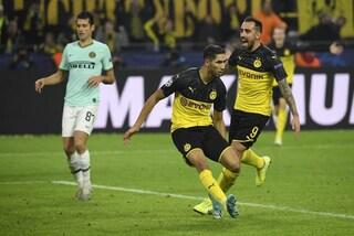 Borussia Dortmund-Inter: le pagelle commentate sul risutato di 3-2