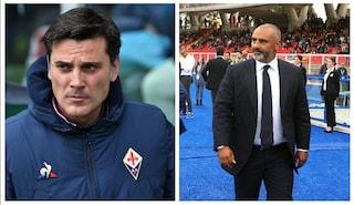 Il Lecce espugna Firenze grazie ad un gol di La Mantia. Si fa male Ribery