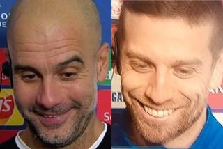 """Pep Guardiola: """"Giocare contro l'Atalanta è come andare dal dentista"""""""