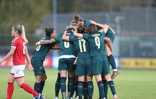 Euro 2021, l'Italia femminile vince la sesta gara di fila nel gruppo B: battuta Malta 5-0