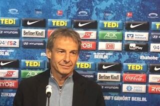 Jurgen Klinsmann è il nuovo allenatore dell'Hertha Berlino