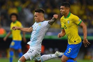 Brasile-Argentina ore 18, dove vedere l'amichevole in tv e streaming