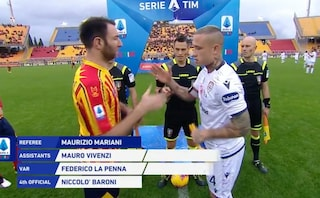 Lecce-Cagliari, Calderoni fa gol al 90° e fissa il risultato finale sul 2-2