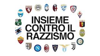 """Serie A, i 20 club: """"Non c'è tempo da perdere. Leggi più dure contro il razzismo"""""""