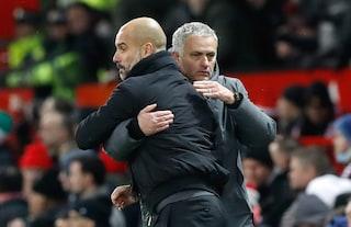 """Guardiola saluta il ritorno di Mourinho: """"Tecnico incredibile, farà un buon lavoro"""""""