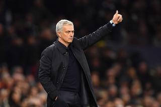 """Mourinho e lo sgarbo all'Inter: """"Le terze in Champions non devono andare in Europa League"""""""