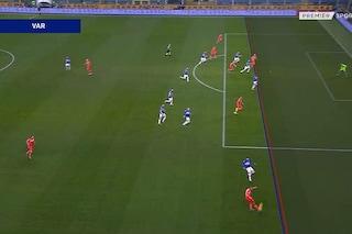 Moviola Sampdoria-Udinese: VAR perfetto sul gol annullato e sul rigore finale