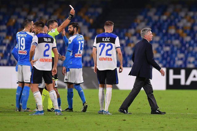 Niente Roma-Napoli per Ancelotti, confermata la squalifica