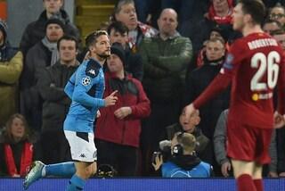 Perché Dries Mertens non ha esultato dopo il gol a Liverpool?