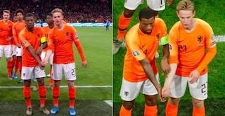 Euro 2020, vincono la Germania, il Belgio e l'Olanda antirazzista di Wijnaldum e de Jong