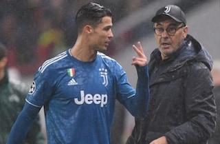 """La Juventus di Sarri come quella di Allegri: gioca """"male"""" ma vince"""