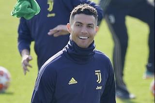 Juve, come sta Cristiano Ronaldo? Si allena e contro l'Atletico in Champions può esserci