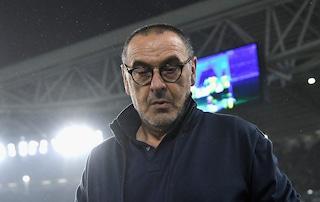 """Juve, Sarri: """"Vogliamo qualificarci per gli ottavi. Dybala in dubbio per la Lokomotiv"""""""