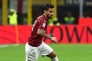 Milan: infortunio per Suso, salta il posticipo con la Lazio