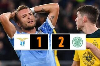Lazio ko. Il Celtic vince al 95'. Immobile e soci a un passo dall'eliminazione