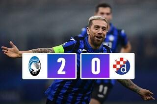 Atalanta, la prima storica vittoria in Champions League: battuta 2-0 la Dinamo Zagabria